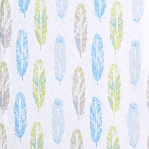Halo Sleepsack Cotton Wearable Blanket, Feather Aloe Print, Small by Halo (Image #2)