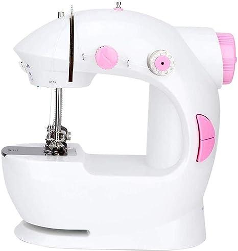 Yuaer Mini máquina de coser, máquina de coser overlock portátil ...
