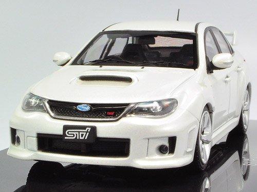 1/43 スバル インプレッサ WRX STI 4ドアホワイト 44395