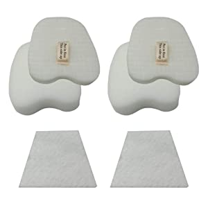 HIHEPA 2-Pack Felt & Foam Filter for Shark Rocket HV319 HV320 HV321 HV322 HV324 HV345 UV330 UV422 ZS350 ZS351 ZS352 Compare to Part # XPMFK320# 1084FTV320