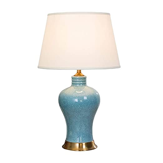 American Table lamp Ceramic Bedroom Bedside lamp Creative ...