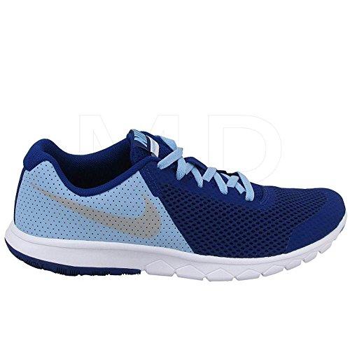 Nike Course Femme deep Azul gs Blue Experience Silver Royal De bluecap Flex 5 Chaussures Metallic rqarwY