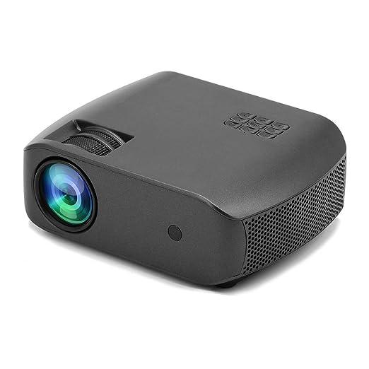 FFQNG Proyector Portátil, HD 1280P Pico Projector, Puede Leer U ...