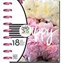 me & my BIG ideas Create 365 The Happy Planner, Peony Florals, 18 Month Planner, July 2016 - December 2017