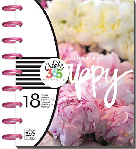 me & my BIG ideas Create 365 The Happy Planner, Peony Florals, Jul 2016 - Dec 2017 ()