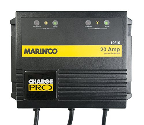 Marinco On-Board 20 Amp Battery Charger Bank (Marinco Battery)