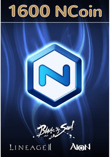 Amazoncom Ncsoft Ncoin 1600 Online Game Code Video Games