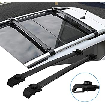 Amazon Com Partol Roof Rack Cross Bars For Jeep Renegade