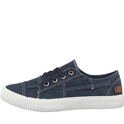 50389e6b80 Blowfish Women's Cablee Trainers, Blue (Navy), 3 UK 36 EU: Amazon.co.uk:  Shoes & Bags