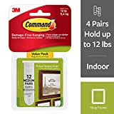 easy wall painting ideas Command 17204-12ES 07248000796 CMND PIC HANG STRIP VP 12 Pairs White Picture