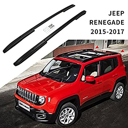 Jeep Renegade Roof >> Amazon Com Heka Roof Rack Rail Fit For Jeep Renegade 2015 2019