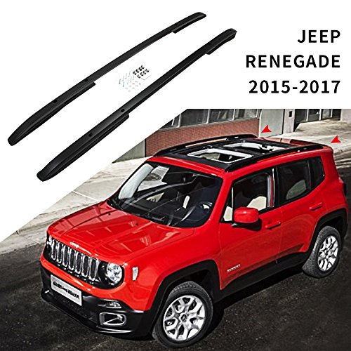 Roof Rack Rail fit for JEEP renegade 2015 2016 2017 Baggage -  HEKA, JPZYXHSXLJHWC