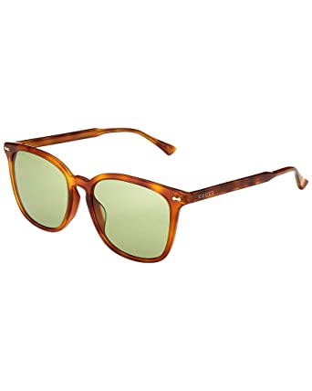 296815cda1c Image Unavailable. Image not available for. Color  Gucci Womens Women s  Gg0194sk-30001763003 56Mm Sunglasses
