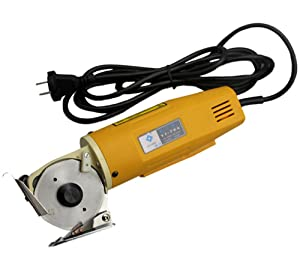 CGOLDENWALL 170W YJ-70A Circular Knife Electric Scissors Cloth Fabric Cutter Electric Round Cutting Machine Cutting Height: 25MM 110V