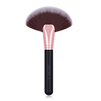9e827c741df8 Docolor Makeup Brushes Fan Brush Professional Face Highlighting Contour  Make Up Blending Tool