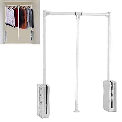 Amazon Com Gototop Wardrobe Hanger Aluminum Closet Storage