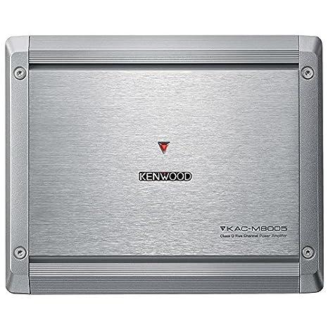 Kenwood Kac-M8005 5-Channel Power Amplifier on