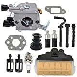 Allong MS250 Carburetor Air Filter Fuel Oil Filter Tune Up Kit for STIHL 021 MS210 023 MS230 025 MS250 Chainsaw 1123-120-0603