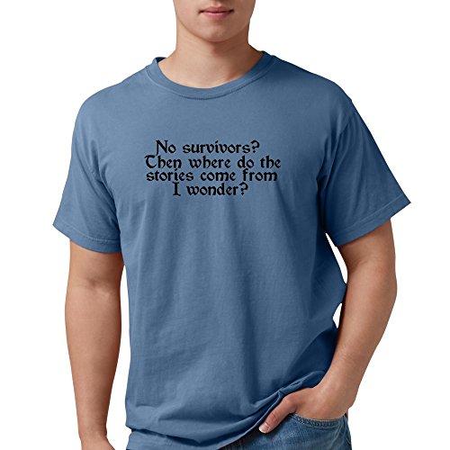 CafePress No Survivors 909 T-Shirt Mens Comfort Colors Shirt