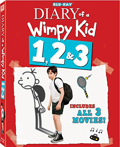Diary Of A Wimpy Kid 1-3 Triple Feature Blu-ray JungleDealsBlog.com