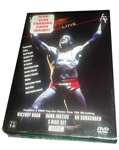 (TNA Cross the Line - 3 Full Length Events (3 DVD Set and Trading Card) - Victory Road, Hard Justice and No Surrender (3 Disc Set))
