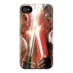 Anglams Case Cover For Iphone 4/4s - Retailer Packaging Mitsurigi Vs Vader Protective Case