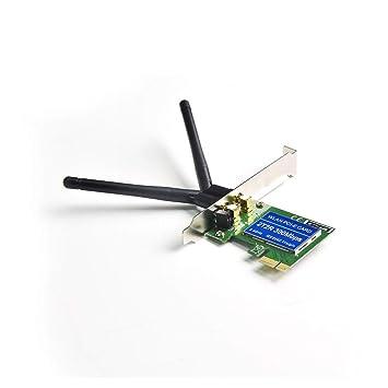 TALIUS PCI300-N2D - Tarjeta de Red Pci-E inalambrica WiFi-N ...