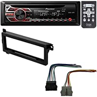 CAR STEREO RADIO CD PLAYER RECEIVER INSTALL MOUNT KIT HARNESS RADIO ANTENNA ADAPTER FOR SELECT CHRYSLER DODGE PLYMOUTH VEHICLES