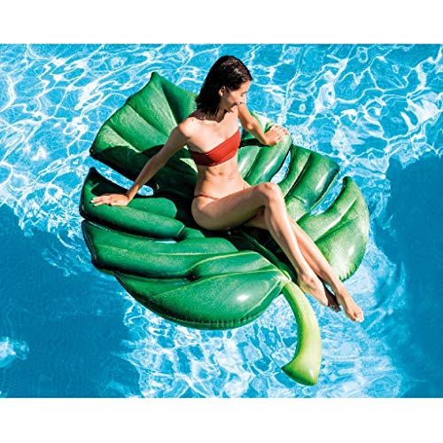 Comprar Colchoneta Hoja de Palmera fotorrealista - Intex 58782EU- Tienda Online Colchonetas Flotadores Piscinas - Envíos Baratos o Gratis