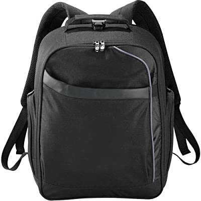 """Checkpoint-Friendly 15"""" Laptop Computer Backpack Bag Black Checkmate® best"""