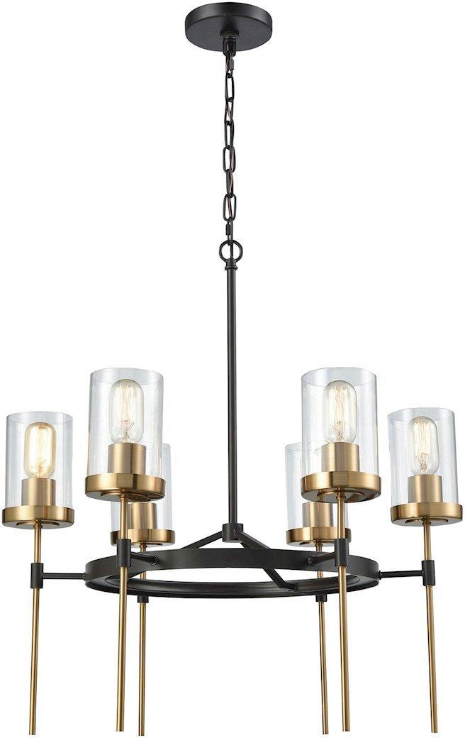 ELK Lighting 14553//6 Chandelier One Size Bronze