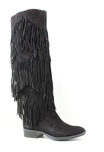 243804926 Sam Edelman Women s Pendra Black Kid Suede Leather Boot ...