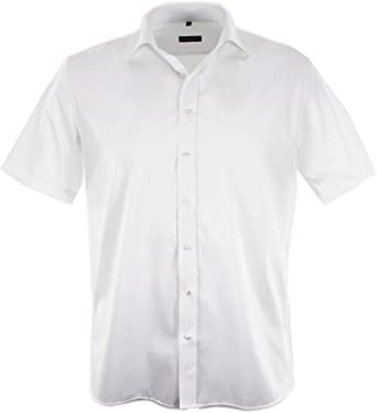 Eterna - Camisa formal - para hombre, color blanco, talla XXL/45: Amazon.es: Ropa y accesorios