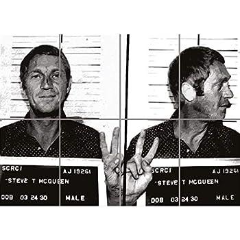 Portrait of Steve McQueen Archival Fine Art Print 11x14 Giclee Bullitt Signed