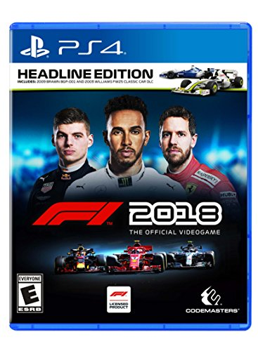 F1 2018 Headline Edition - PlayStation 4 (Best Tires In The World 2019)