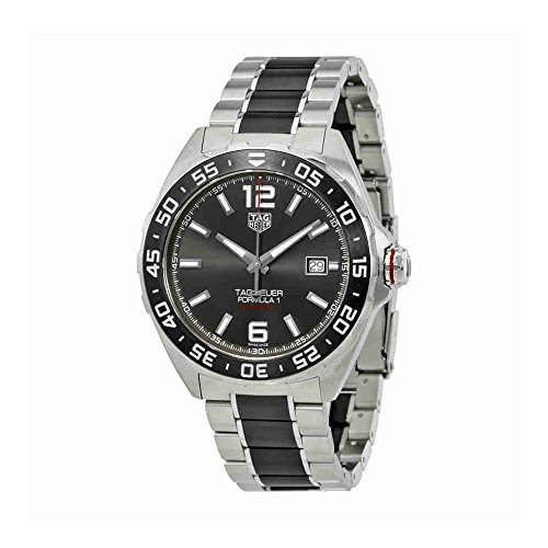 Watch Box Tag Heuer (Tag Heuer Formula 1 Automatic Mens Watch WAZ2011.BA0843)