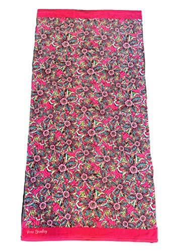 Vera Bradley Beach Towel (Sunburst Floral) (Paisley Beach Towel)