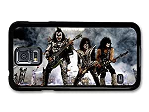 AMAF ? Accessories Kiss Live Concert Band Playing Guitars case for Samsung Galaxy S5