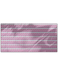 Heart And Strip Rectangle Tablecloth Large Dining Room Kitchen Woven Polyester Custom Print