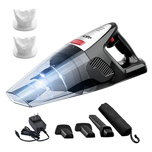 HoLife Handheld 8kp Hand Vacuum Cordless Cleaner 21.9V 100W Home and Car Cleaning with Cyclone Suction by HoLife
