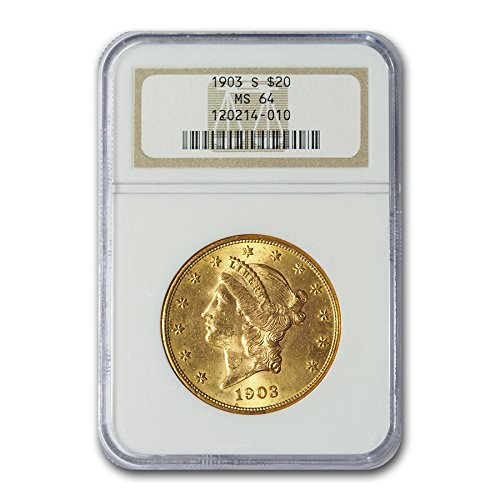 (1903 S $20 Liberty Gold Double Eagle MS-64 NGC G$20 MS-64)