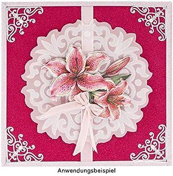 Ideen mit Herz Samt-Papier 200 g//qm Dekorpapier 10 Bogen Effekt-Karton Samt Farbsortierung 1 DIN A4