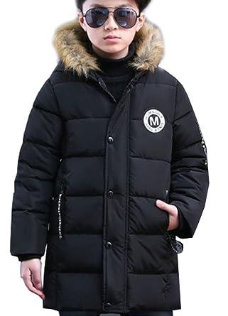 Bébé Jacket Blouson Garçon Veste Long Fourrure Manteau Enfant Capuche Doudoune Fausse Hoodie Hiver Magike wAIOqFg