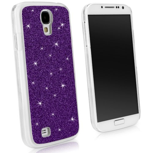 Galaxy S4 Case, BoxWave® [Glitter Case] Colorful Sparkly Glitter Case with Subtle Shimmer for Samsung Galaxy S4 - Royal Purple