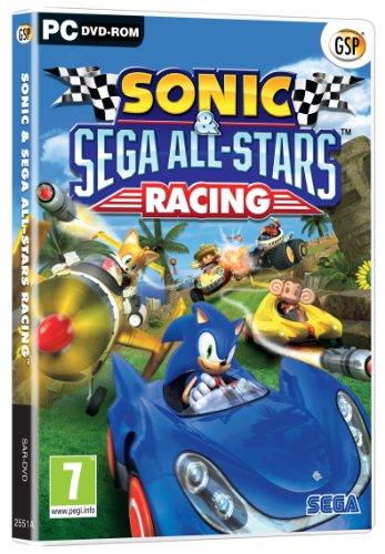 Sonic and SEGA All Stars Racing (PC DVD) (Sonic And Sega All Stars Racing Tails)