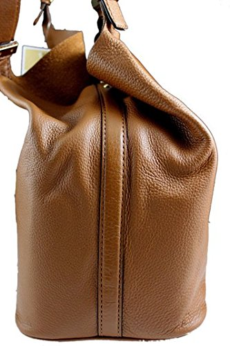 6c7d3c4c2baa Amazon.com  Michael Kors Colgate Large Grab Bag in Reversible Luggage Brown  Leather and Suede with Silver Hardware  Shoes