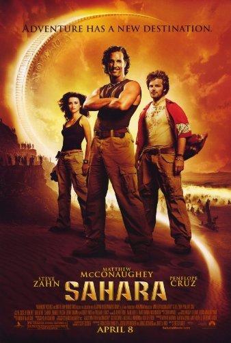 Sahara POSTER Movie (27 x 40 Inches - 69cm x 102cm) (2005) (Style B) Sahara Movie Poster