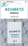 25 Schmetz Stretch Sewing Machine Needles 130/705H H-S Size 90/14