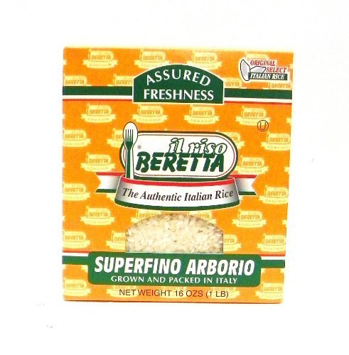 Beretta Superfino Arborio Authentic Italian Rice 16 oz by Beretta by Beretta