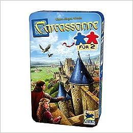 Carcassonne, Für 2 - Bring-Mich-Mit-Spiel in Metalldose: Amazon.es: Libros en idiomas extranjeros